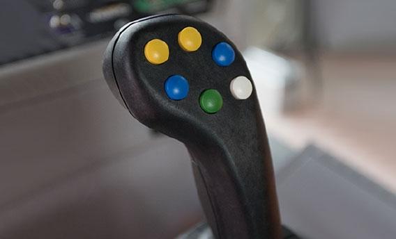 Joystick ve Araç Kontrol Paneli